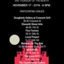November Gallery Night And Open Studios Saturday 12 to 6pm